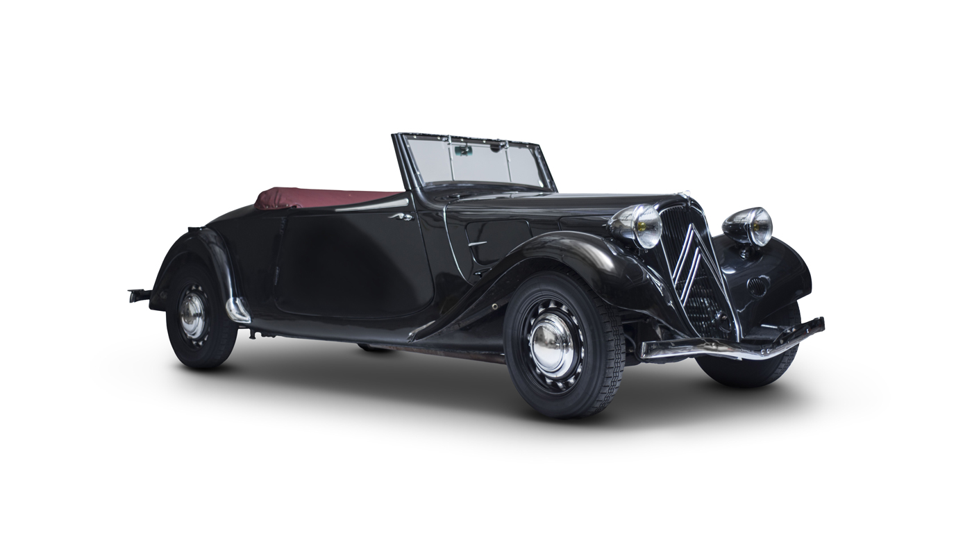 A 1935 Traction Avant Cabriolet.