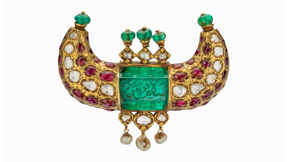 Mughal Horn Pendant from the 18th century