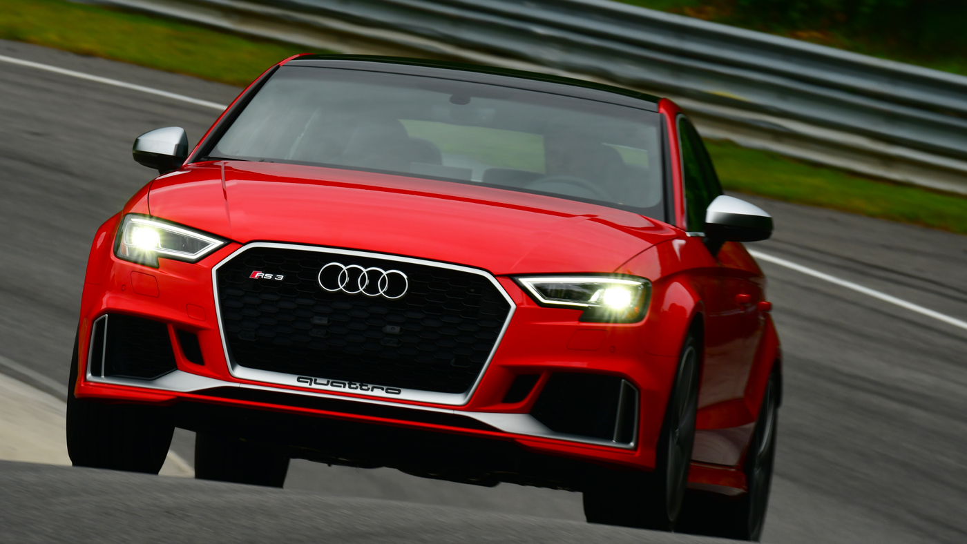 The Audi RS3.
