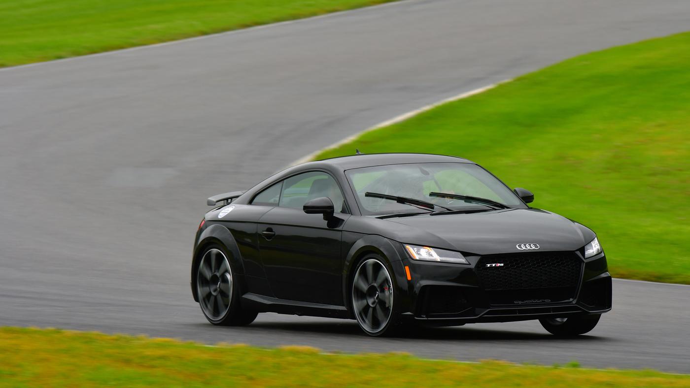 The Audi TT RS.