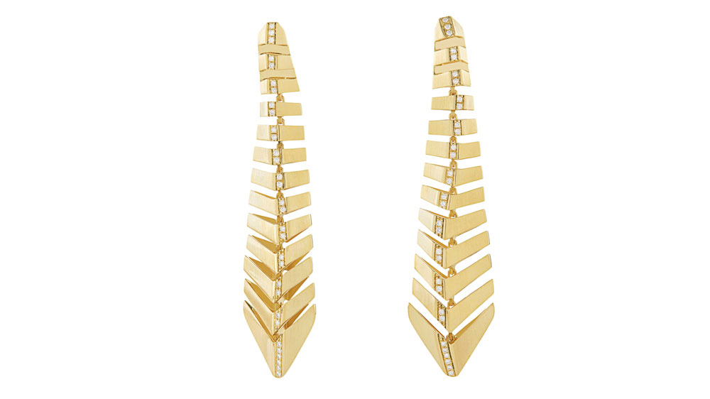 Signature HS collection earrings
