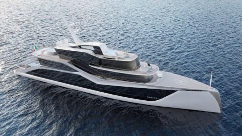 Tankoa Italy superyacht gigayacht concept