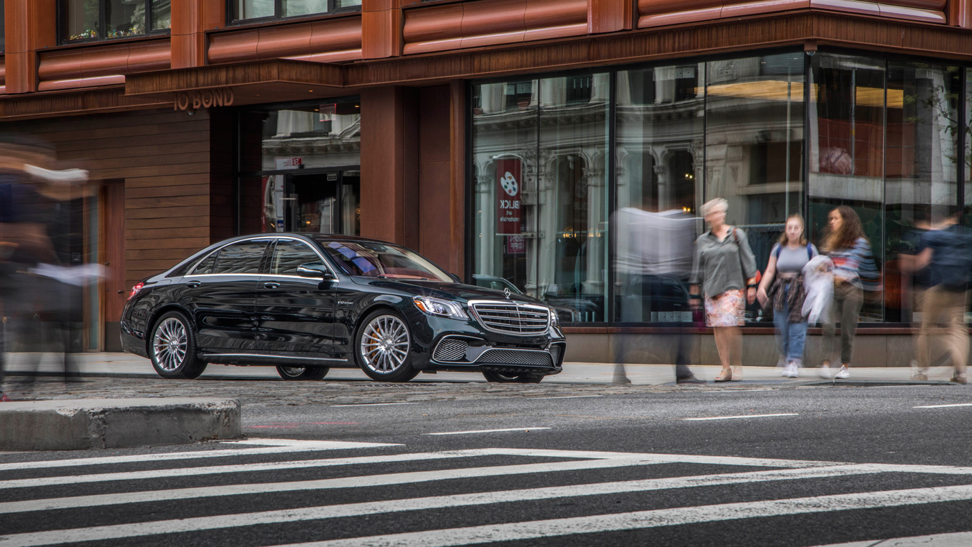 The Mercedes-AMG S65.
