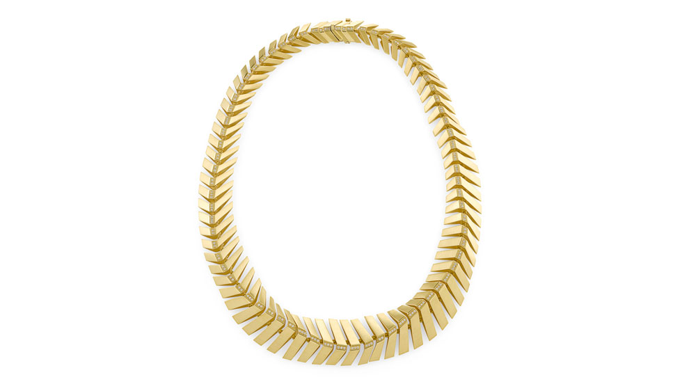 Signature HS collection necklace in 18-karat