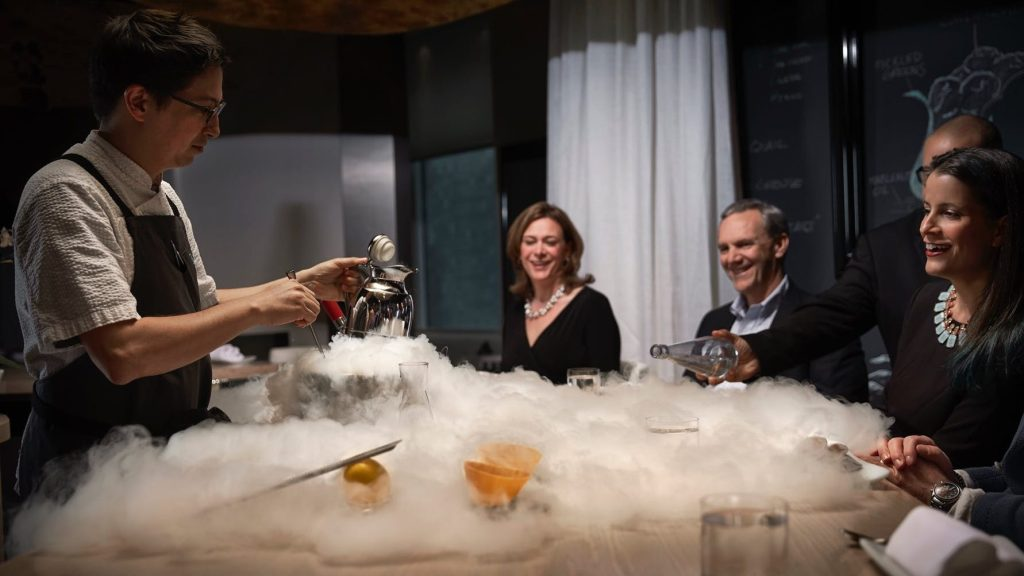 José Andrés' two-Michelin-star restaurant Minibar