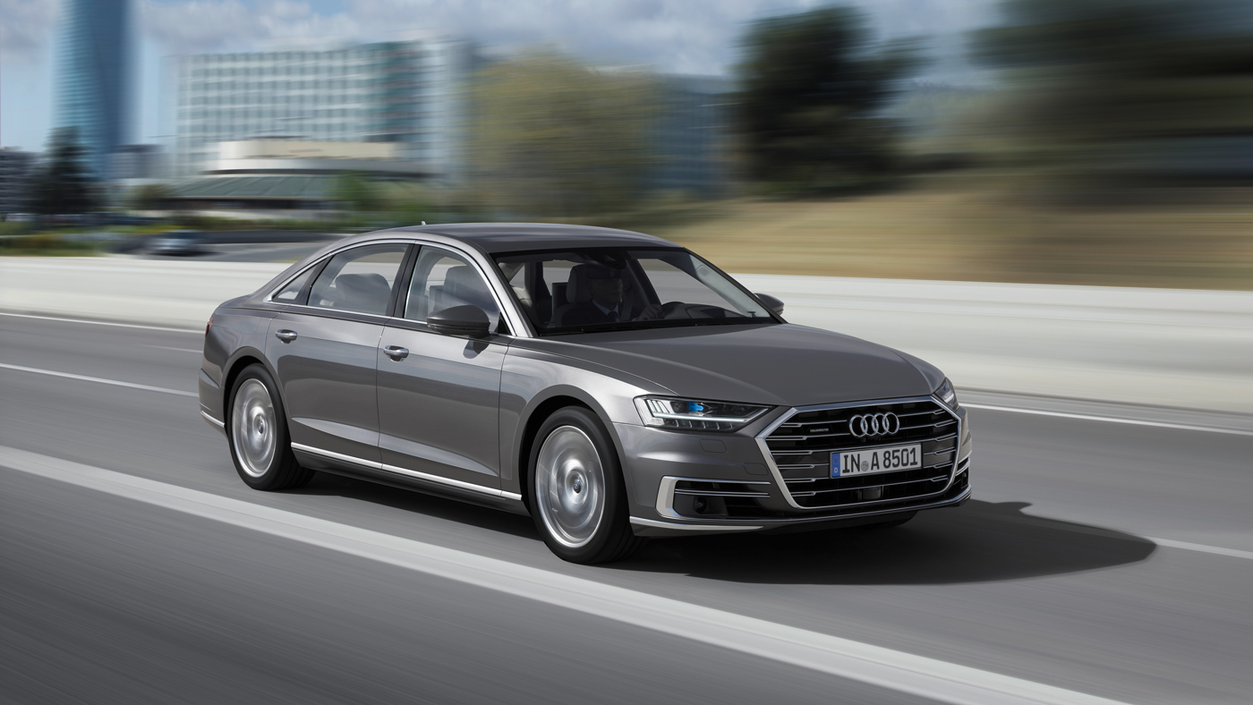 The 2019 Audi A8L.