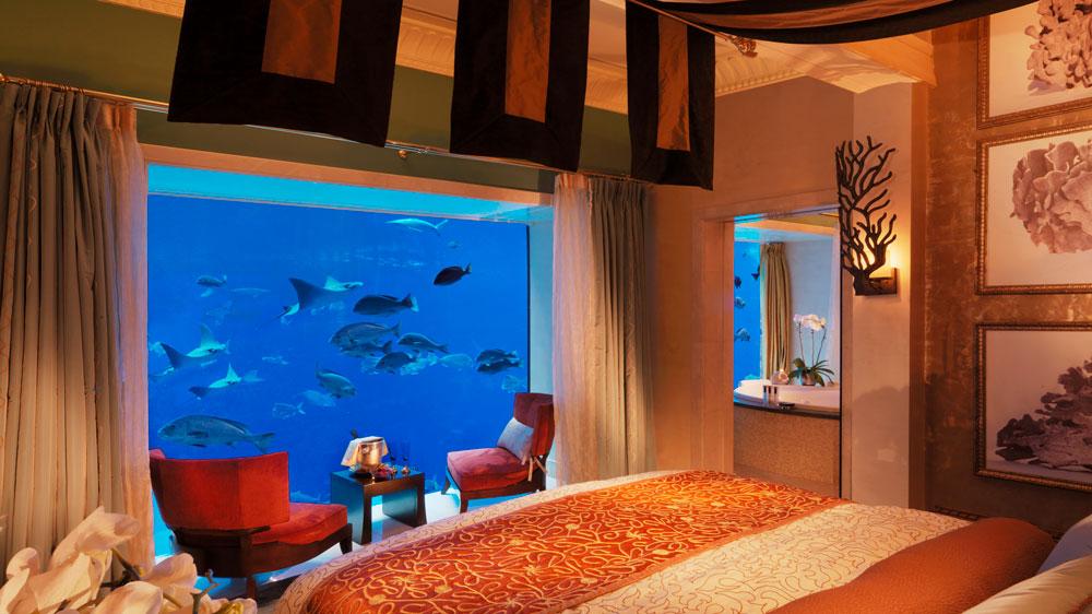 Atlantis the Palm Dubai bedroom
