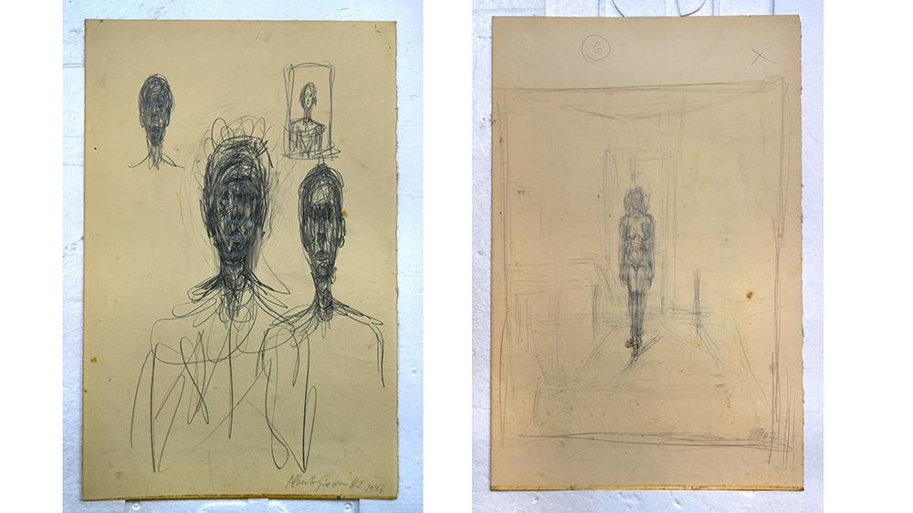 Alberto Giacometti sketch