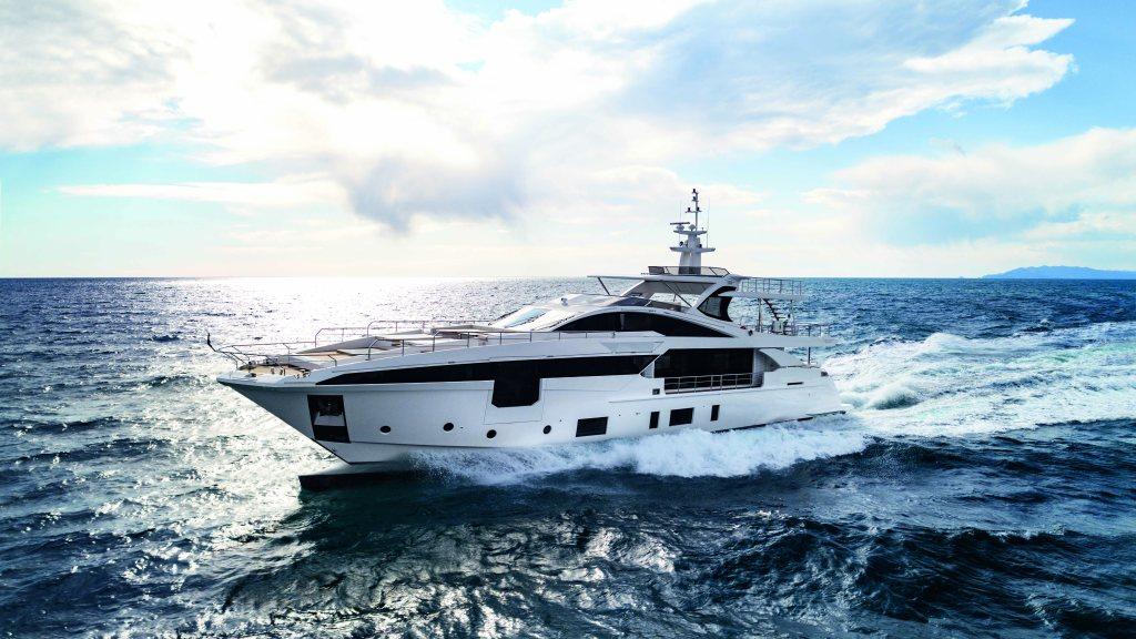 Azimut Grande 35 Metri Righini Italian yacht