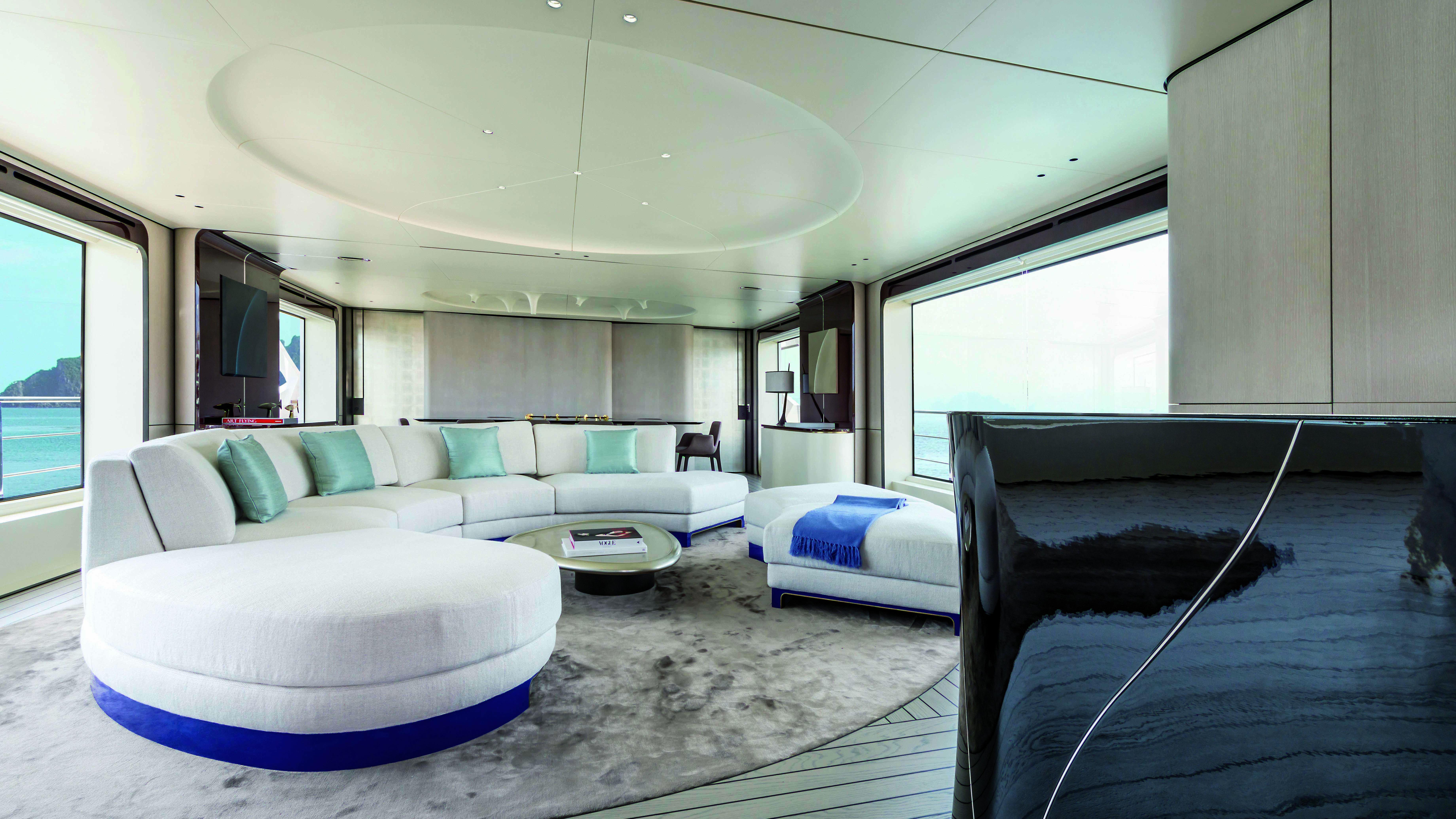 Achille Salvagni Azimut Grande 35 Metri Italian yacht