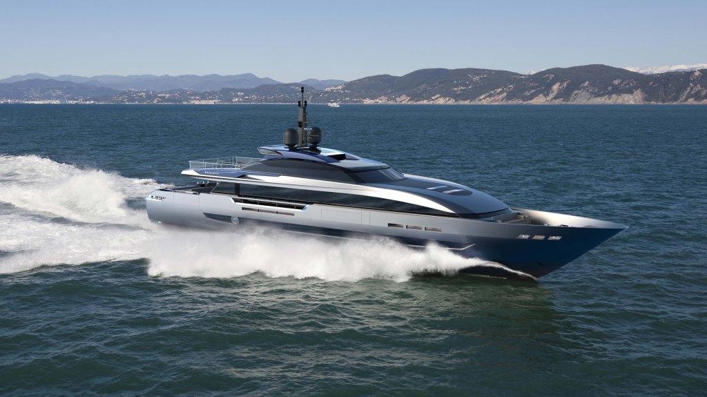 Baglietto 43m Superyacht Italian Paszkowski