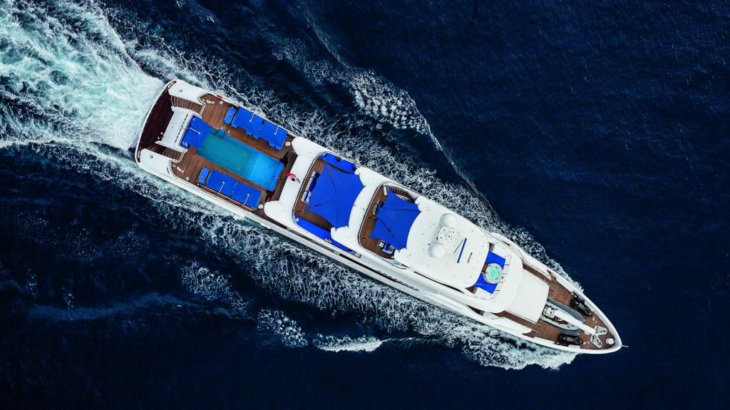 Benetti Seasense superyacht yacht pool Italian