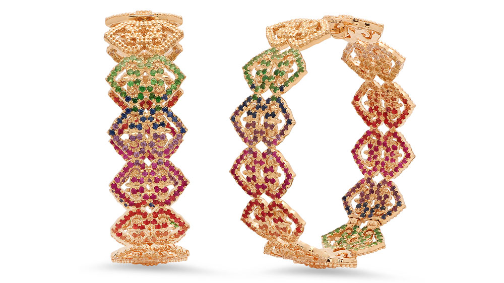 Colette hoop earrings