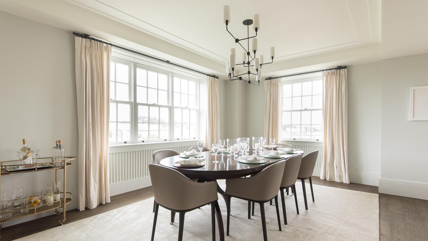 Dining room at Wardman Tower