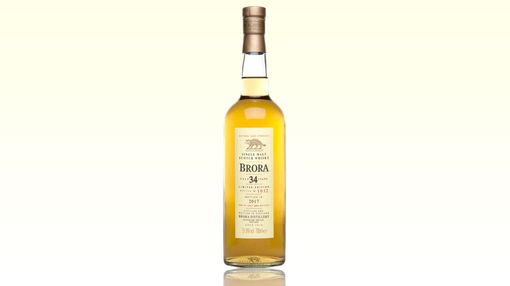Diageo's 2017 Special Release of Brora 34 Year Old Whisky