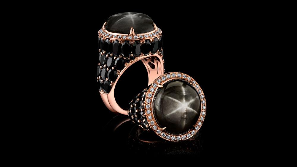 888-carat star sapphire