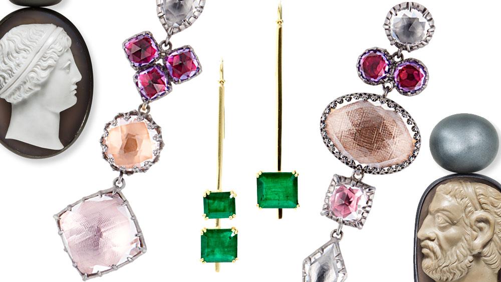 Asymmetric Earrings