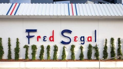 Fred Segal storefront on Sunset
