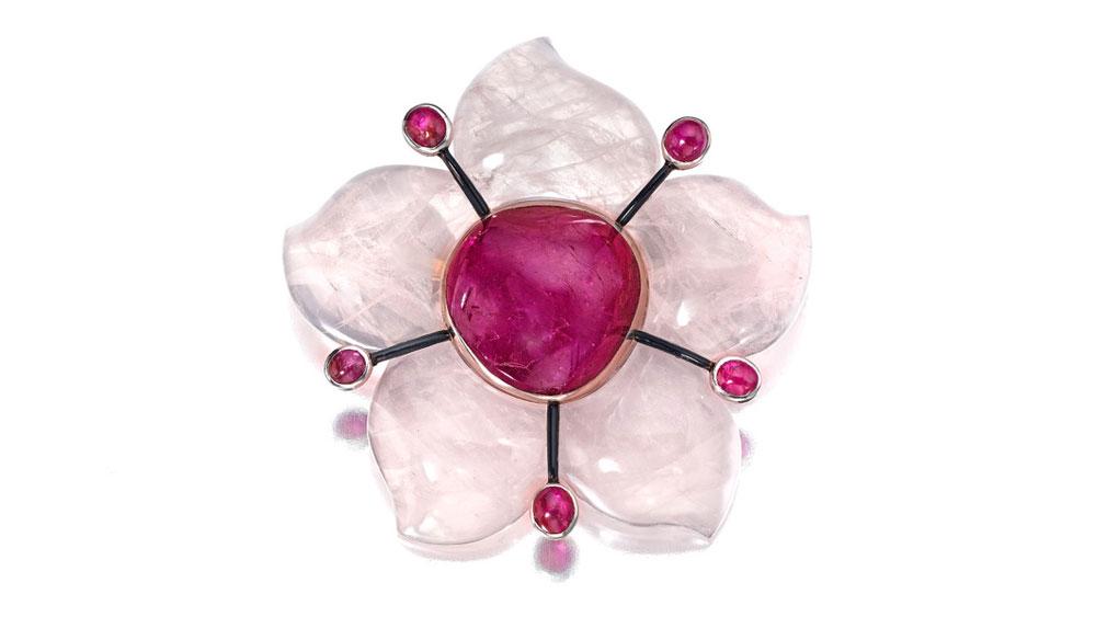 Ruby, rose-quartz Ruby, rose-quartz