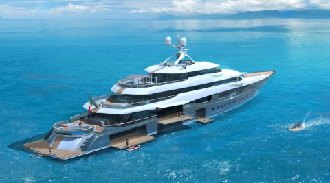 Claydon Reeves Fincantieri Yachts Linea Concept