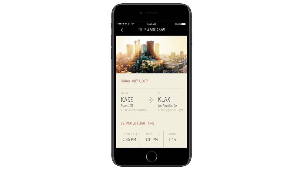 Flex jet app