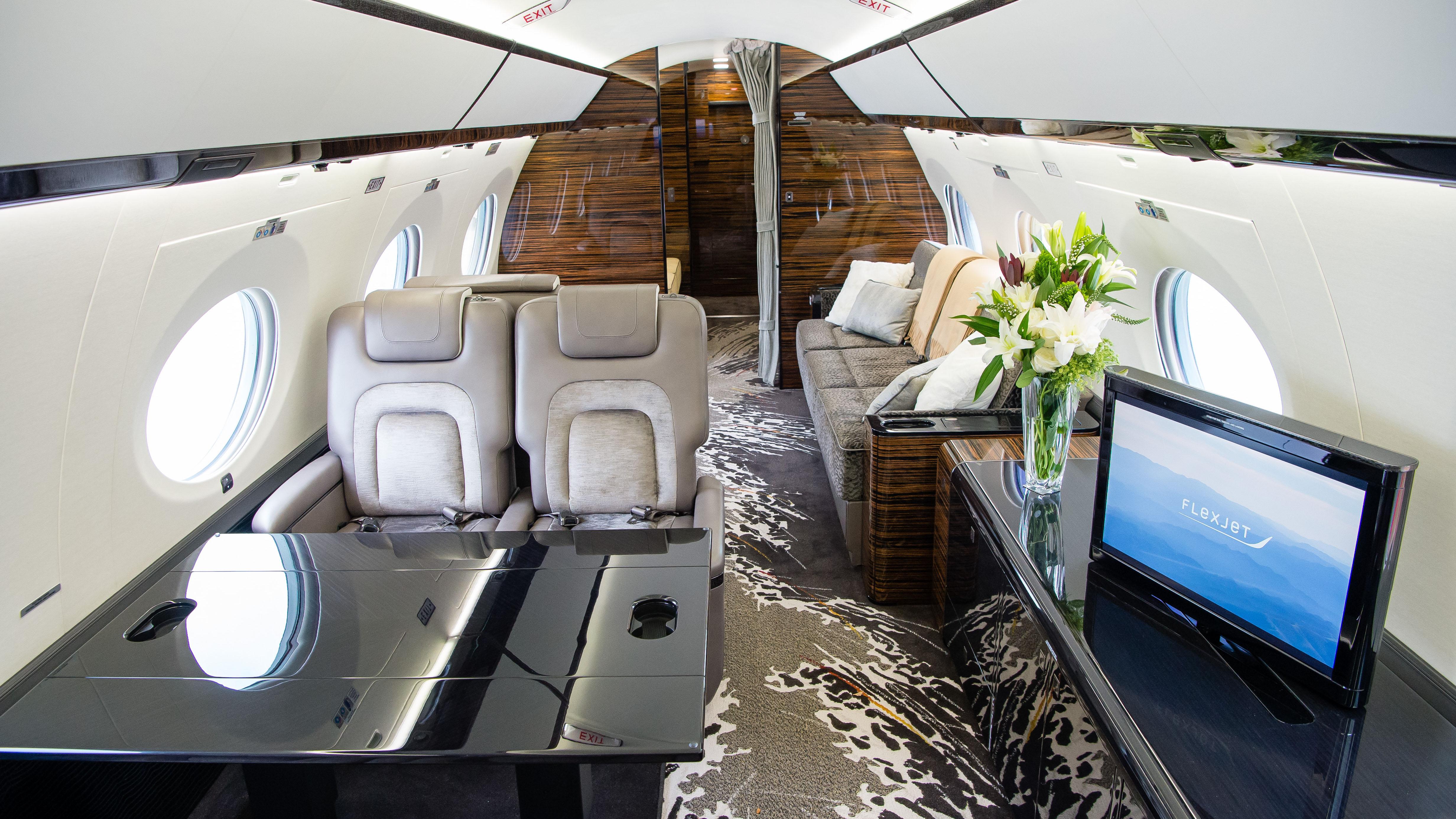 Flexjet Bombardier Challenger Gulfstream Learjet aircraft