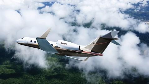 A Gulfstream G450 in Flexjet's fleet.