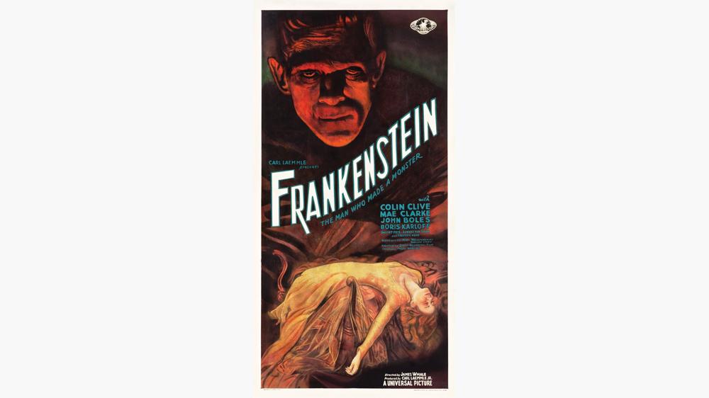 931 original film, Frankenstein, poster