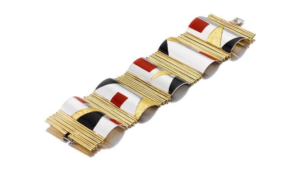 Jean Dunand bracelet
