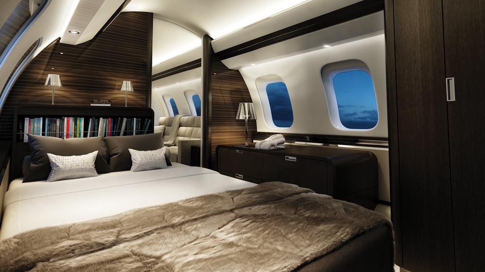 Bombardier Global 7000 bedroom