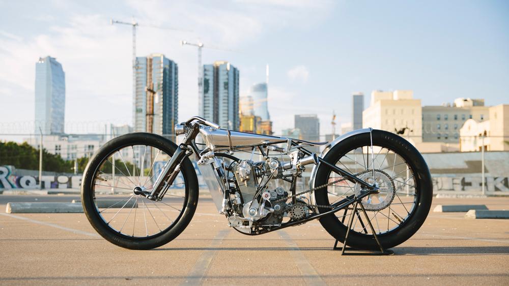 Hazan Motorworks Motorcycle