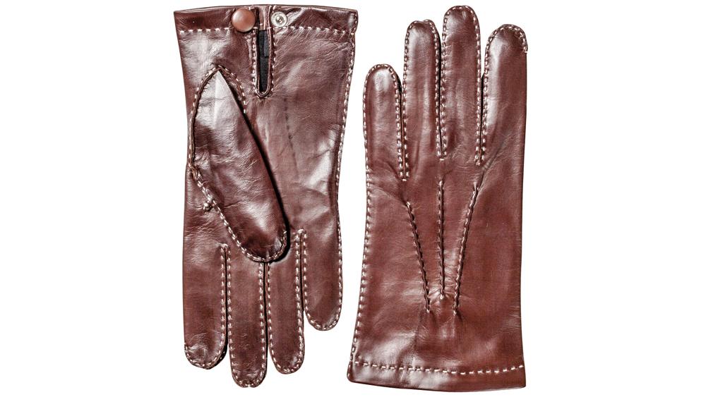 Hand-sewn Hestra gloves