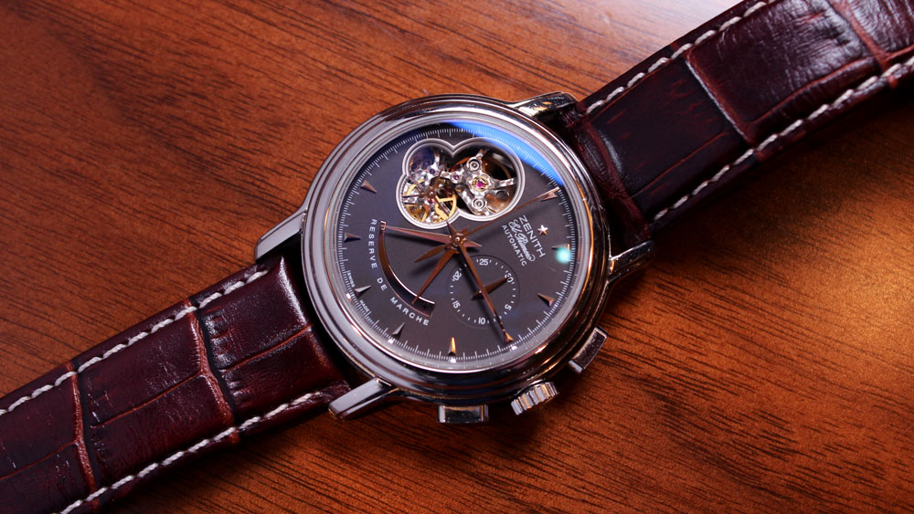 @nycwatchguy's first serious watch purchase — a Zenith El Primero