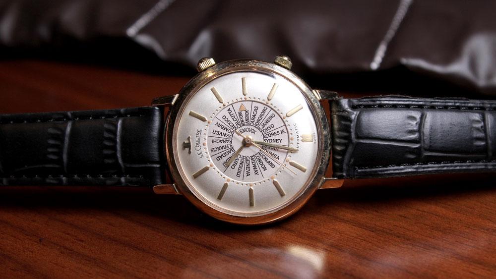 Vintage LeCoultre World Timer.