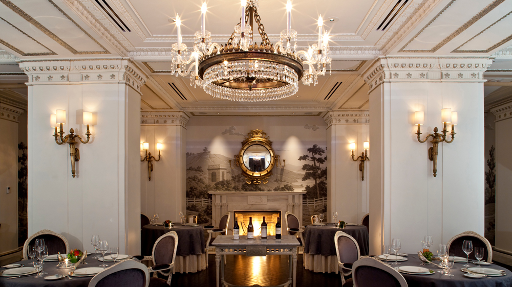 Jefferson Hotel Plume restaurant