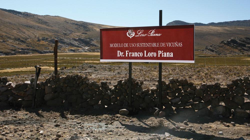 Loro Piana Reserve in Peru