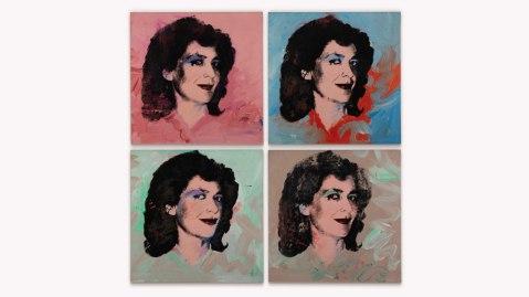 Andy Warhol Graziella Lonardi