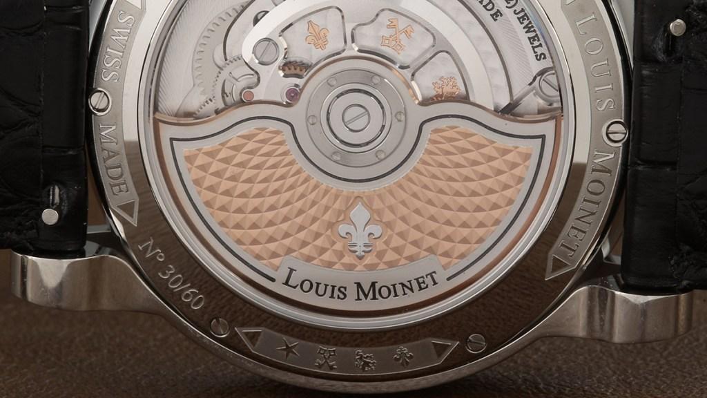 Louis Moinet Metropolis Magic Blue Rotor