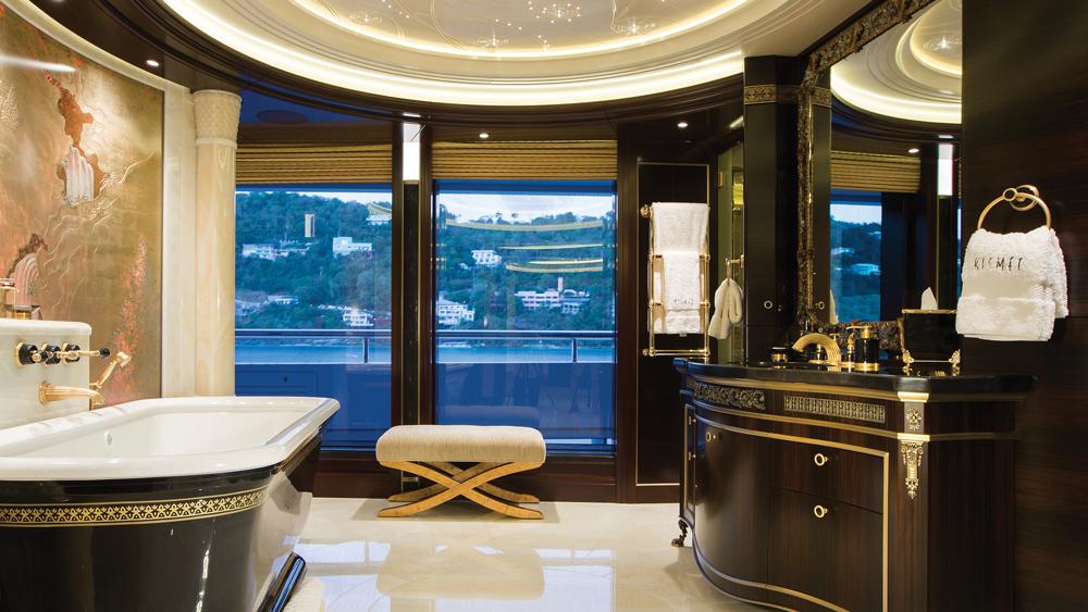 Lürssen yacht interior