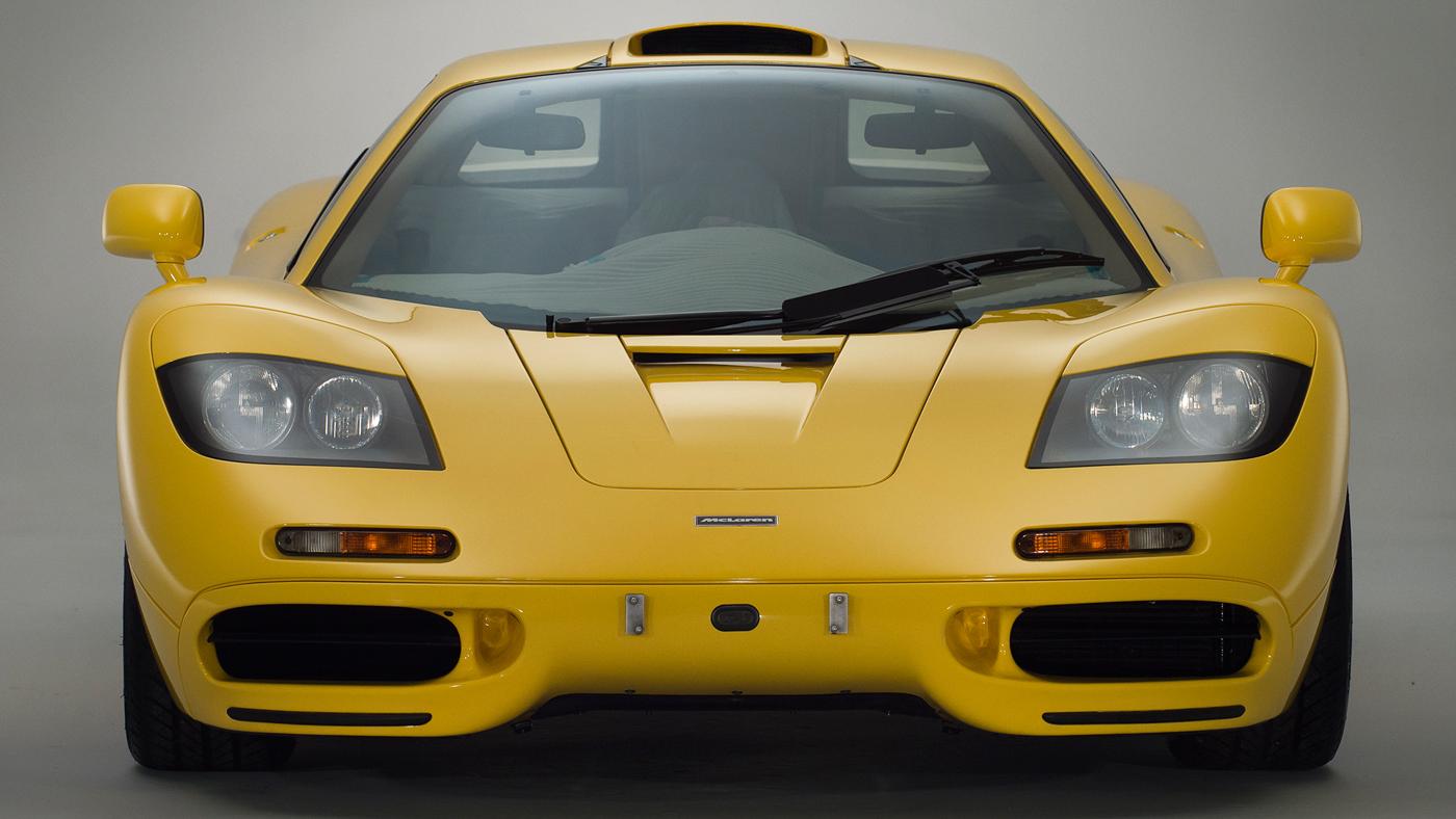 A 1997 McLaren F1.