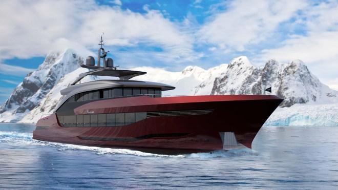 Moonen's Navarino Explorer Yacht Concept