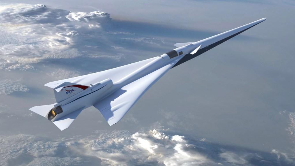 Nasa sonic boom plane jet