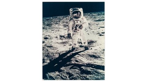 Neil Armstrong photograph
