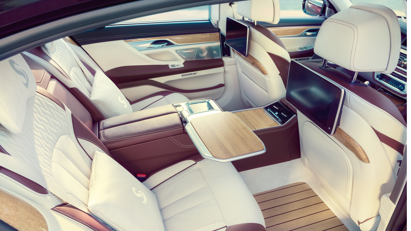 Inside the Nautor's Swan–inspired one-off from BMW.
