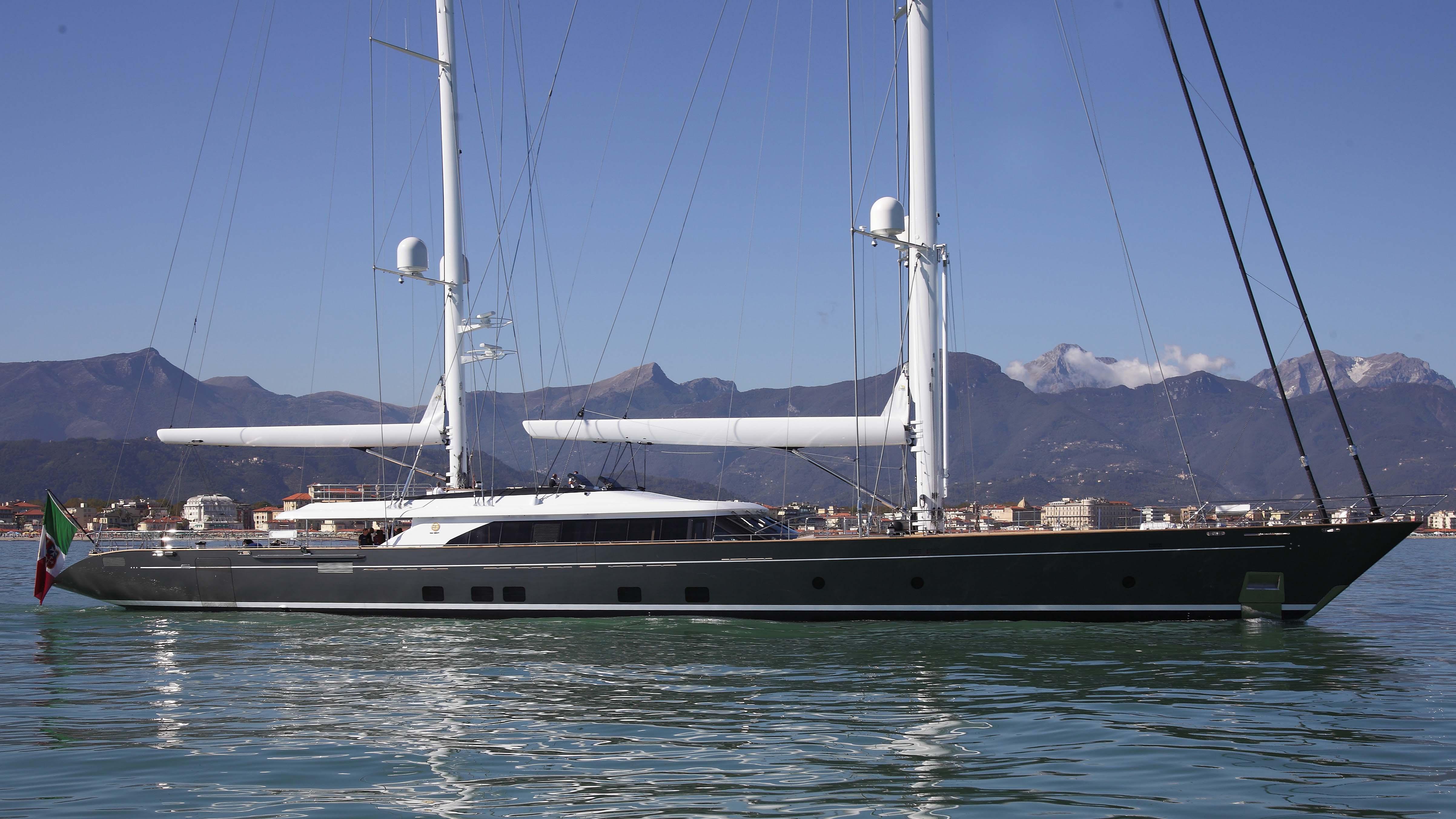 sailing superyacht Perini Navi Italian