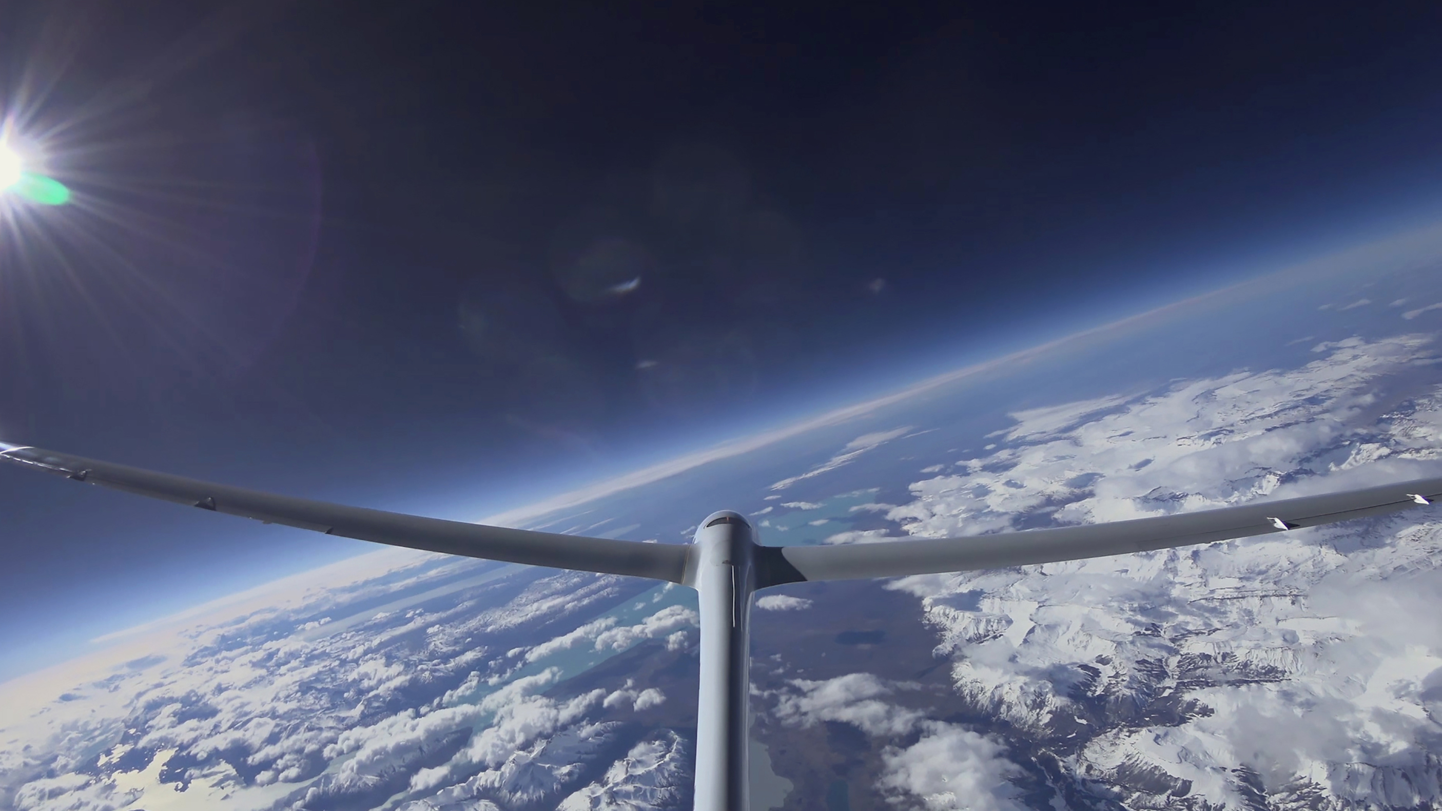 Airbus Perlan 2 glider space world record