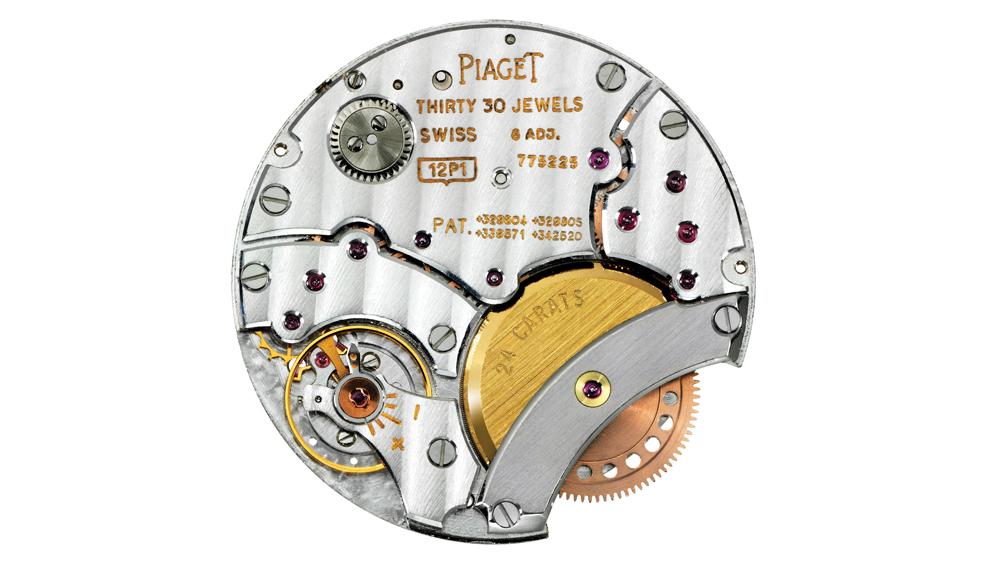 Piaget's 2P automatic movement
