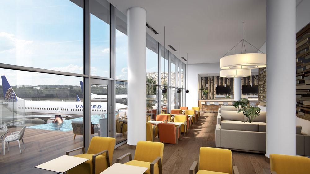 VIP Lounge at the Punta Cana International Airport