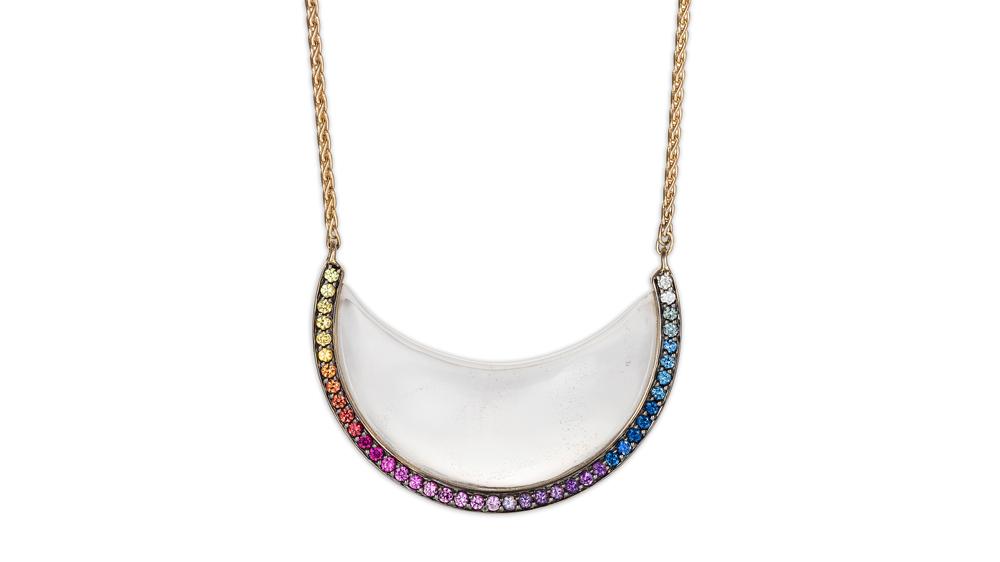 Noor Fares Rainbow Jewelry Necklace