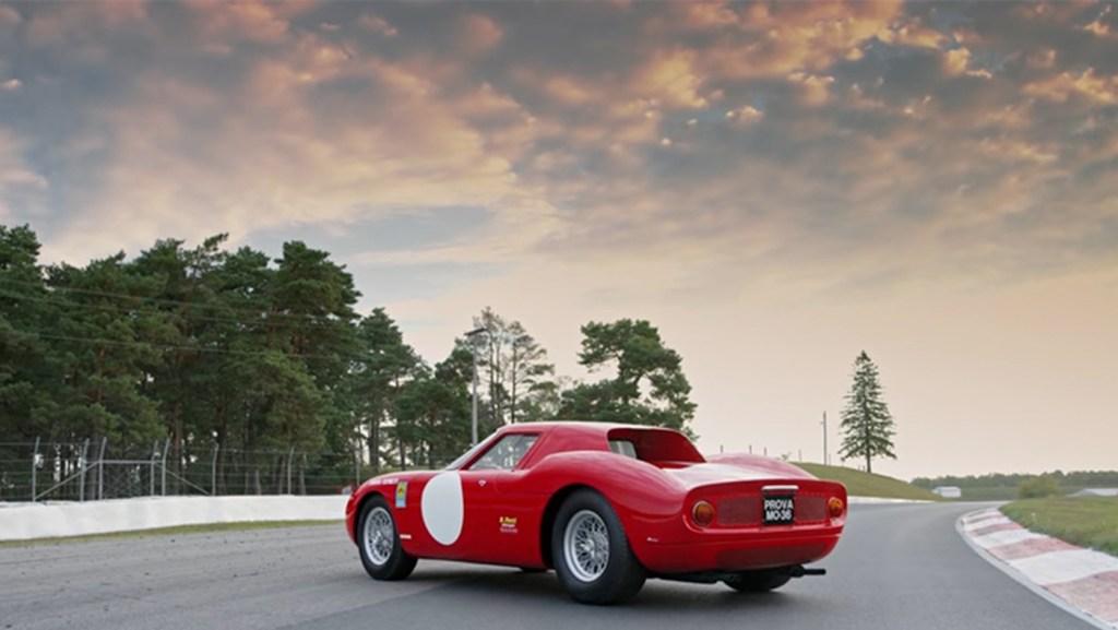 A 1964 Ferrari 250 LM.